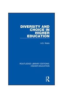 Abbildung von Watts | Diversity and Choice in Higher Education | 1. Auflage | 2018 | 32 | beck-shop.de