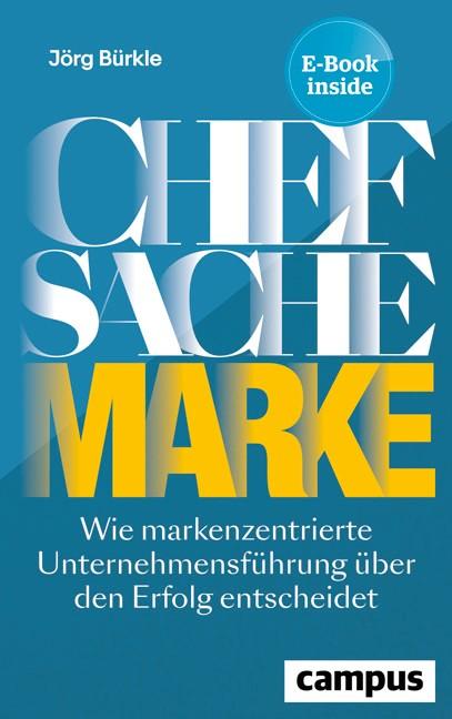 Chefsache Marke | Bürkle, 2019 | Buch (Cover)
