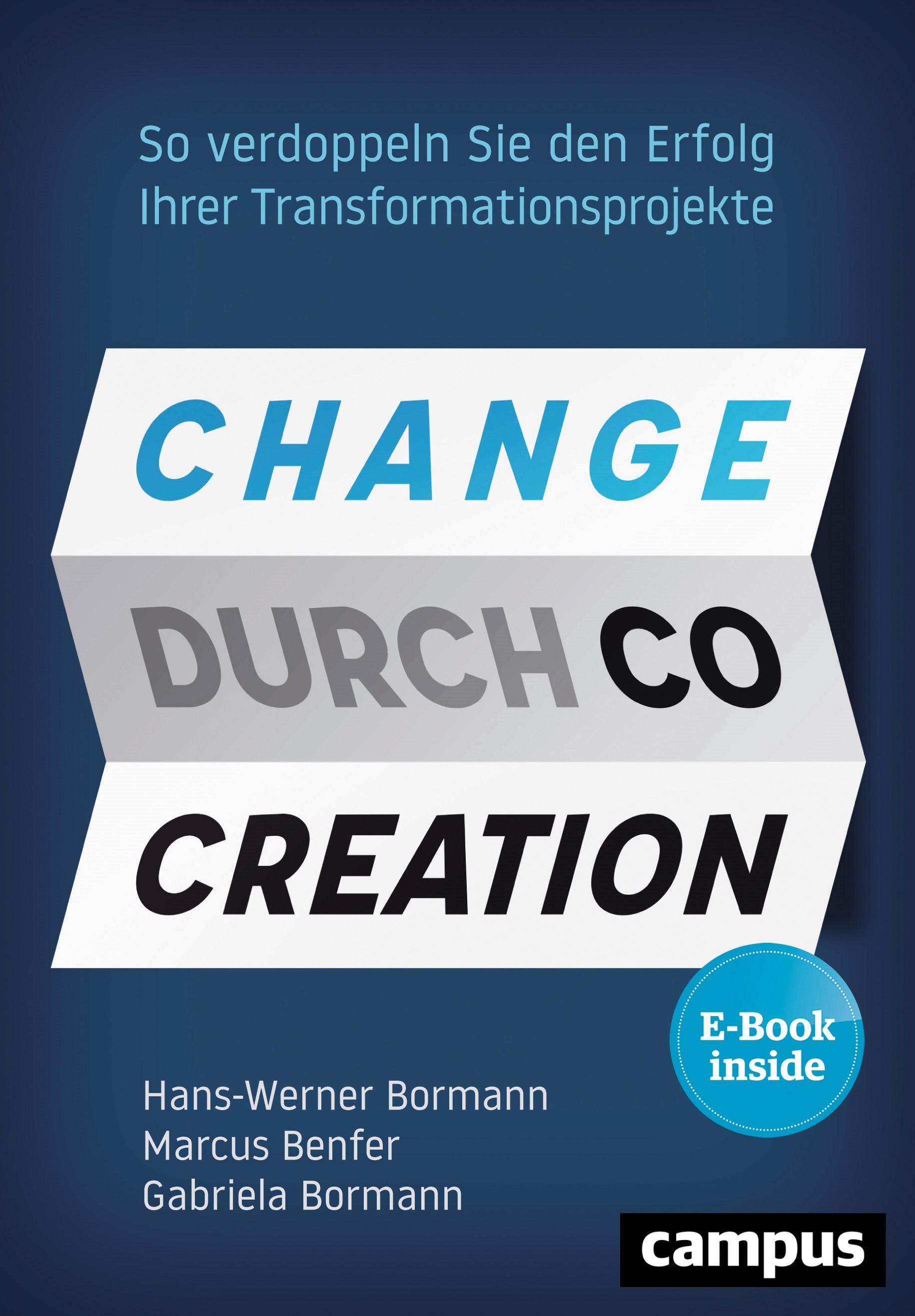 Change durch Co-Creation | Bormann / Benfer, 2019 | Buch (Cover)