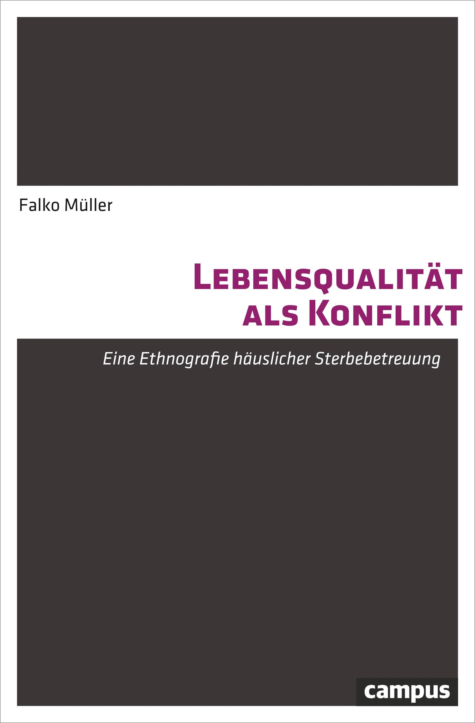 Lebensqualität als Konflikt | Müller, 2019 | Buch (Cover)