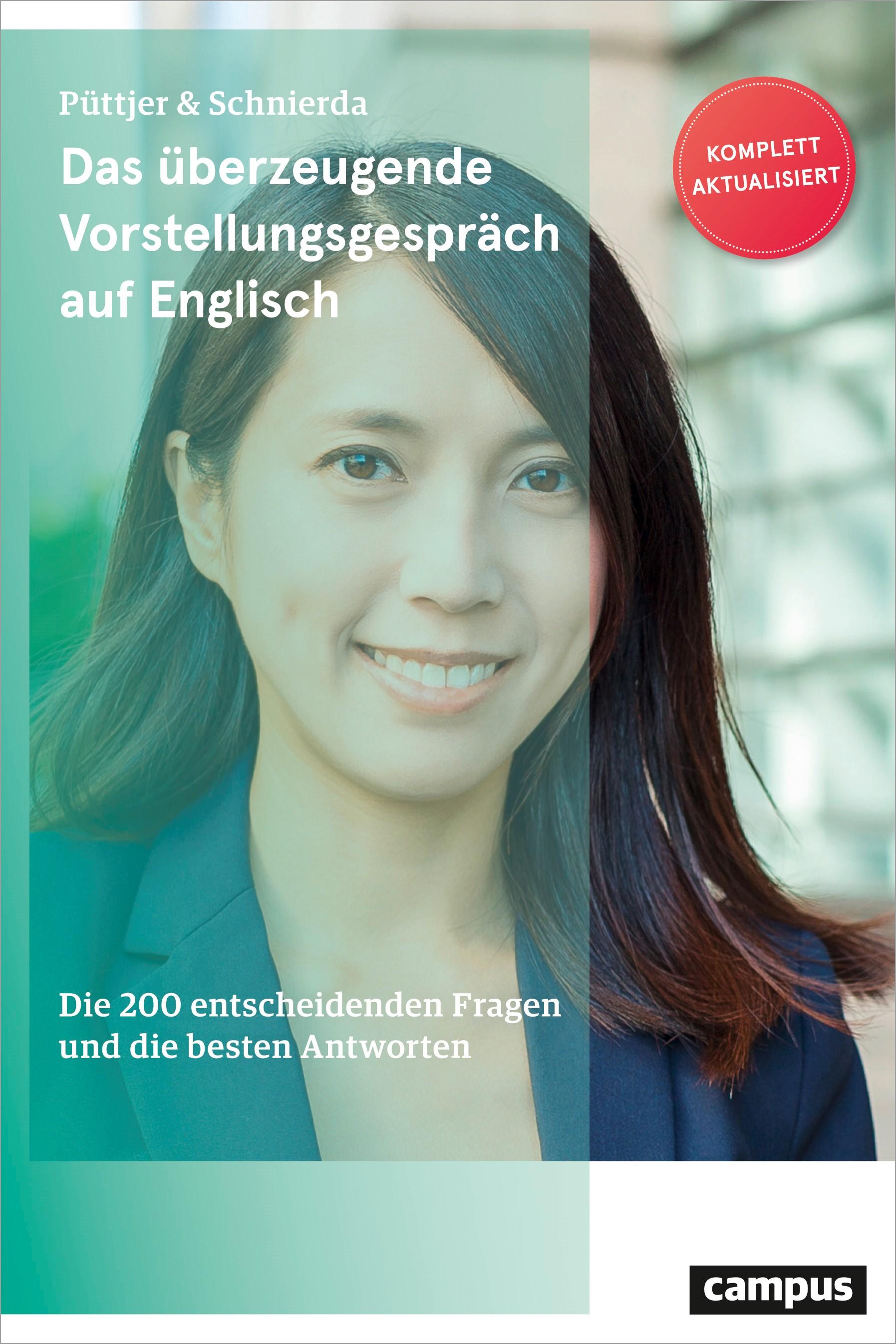 Abbildung von Püttjer / Schnierda   Das überzeugende Vorstellungsgespräch auf Englisch   5. überarbeitete und aktualisierte Auflage   2019