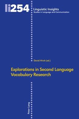 Abbildung von Hirsh | Explorations in Second Language Vocabulary Research | 2018