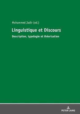 Abbildung von Jadir   Linguistique et Discours   1. Auflage   2018   beck-shop.de