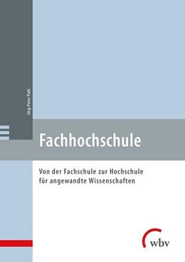 Abbildung von Pahl | Fachhochschule | 1. Auflage | 2018 | beck-shop.de