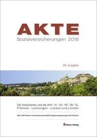 Abbildung von Keiser | AKTE Sozialversicherungen 2019 | 28. Auflage | 2018