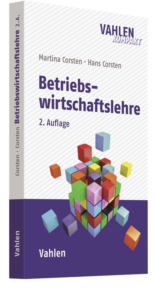 Betriebswirtschaftslehre | Corsten / Corsten | 2. Auflage, 2019 | Buch (Cover)