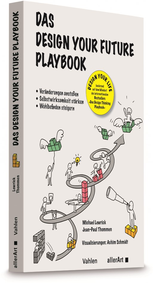 Das Design your Future Playbook | Lewrick / Thommen, 2019 | Buch (Cover)