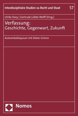 Verfassung: Geschichte, Gegenwart, Zukunft | Davy / Lübbe-Wolff, 2018 | Buch (Cover)