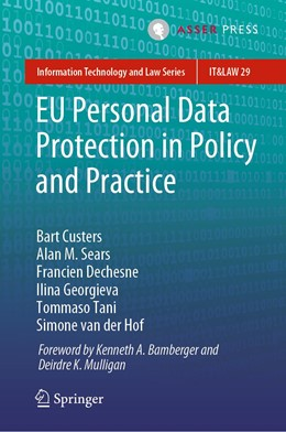 Abbildung von Custers / Sears   EU Personal Data Protection in Policy and Practice   1. Auflage   2019   29   beck-shop.de