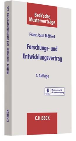 Abbildung von Möffert | Forschungs- und Entwicklungsvertrag | 4. Auflage | 2019