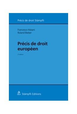 Abbildung von Maiani / Bieber | Précis de droit européen | édition | 2016