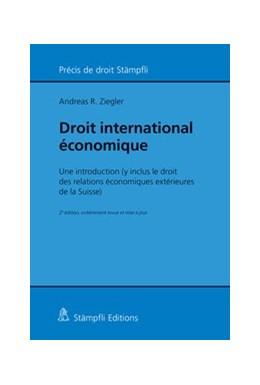 Abbildung von Ziegler | Droit international économique | édition | 2017 | Une introduction (y inclus le ...