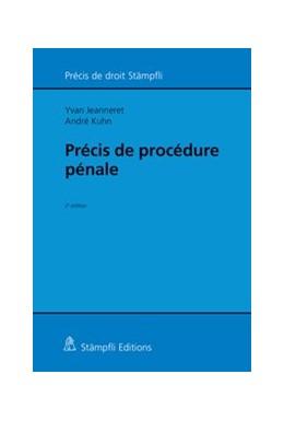 Abbildung von Jeanneret / Kuhn   Précis de procédure pénale   2018