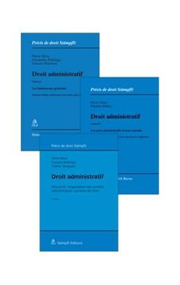 Abbildung von Moor / Flückiger / Martenet | Droit administratif, Vol. I, II & III (Set) | édition | 2018