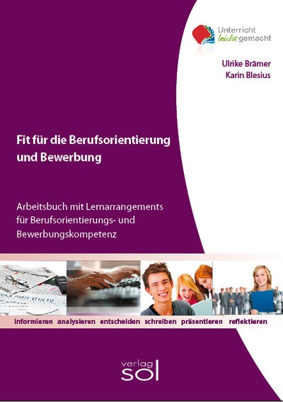 Fit für die Berufsorientierung und Bewerbung   Blesius / Brämer, 2018   Buch (Cover)