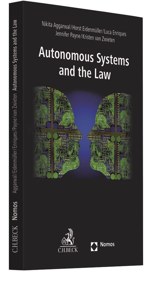 Abbildung von Aggarwal / Eidenmüller / Enriques / Payne / van Zwieten | Autonomous Systems and the Law | 2019