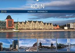 Abbildung von Boettcher | KÖLN AUSBLICK - RHEINBLICK (Wandkalender 2019 DIN A2 quer) | 1. Edition 2018 | 2018 | Köln - Moderne und Historie in...