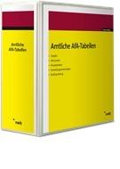 Amtliche Abschreibungstabellen (AfA) - ohne Aktualisierungsservice   Loseblattwerk mit 105. Aktualisierung (Cover)