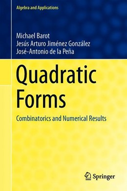 Abbildung von Barot / Jiménez González / de la Peña | Quadratic Forms | 1st ed. 2019 | 2019 | Combinatorics and Numerical Re... | 25
