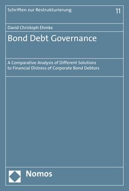 Abbildung von Ehmke | Bond Debt Governance | 1. Auflage | 2018 | beck-shop.de