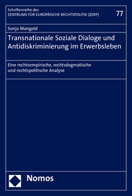 Abbildung von Mangold | Transnationale Soziale Dialoge und Antidiskriminierung im Erwerbsleben | 2018 | Eine rechtsempirische, rechtsd... | 77