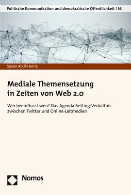 Mediale Themensetzung in Zeiten von Web 2.0 | Abdi-Herrle, 2018 | Buch (Cover)