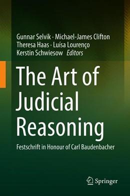 Abbildung von Selvik / Clifton | The Art of Judicial Reasoning | 1. Auflage | 2019 | beck-shop.de