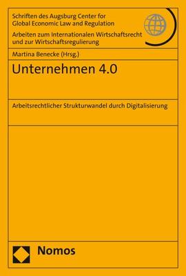 Unternehmen 4.0 | Benecke, 2018 | Buch (Cover)