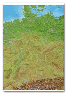 Abbildung von Panoramakarte Deutschland | 1. Auflage | 2018 | beck-shop.de