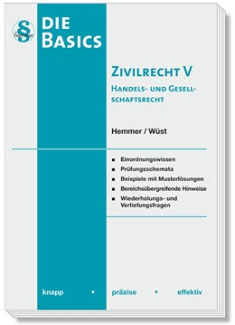 Abbildung von Hemmer / Wüst | Basics Zivilrecht V | 9. Auflage | 2018 | beck-shop.de