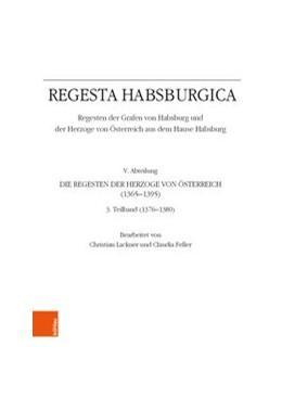 Abbildung von Regesta Habsburgica. Regesten der Grafen von Habsburg und der Herzoge von Österreich aus dem Hause Habsburg   2019