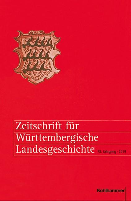 Abbildung von Zeitschrift für Württembergische Landesgeschichte | 2019