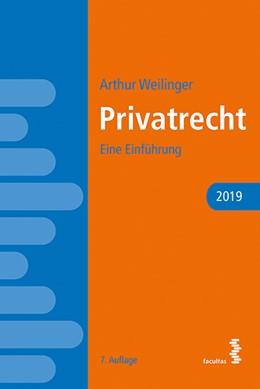 Abbildung von Weilinger | Privatrecht | 2019 | Eine Einführung
