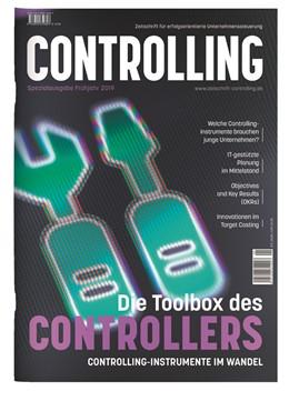 Abbildung von Horváth u.a. | Die Toolbox des Controllers: Controllinginstrumente im Wandel | 2019 | Sonderausgabe der Zeitschrift ...