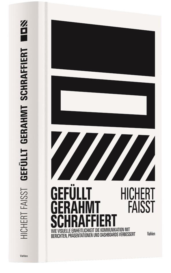 Gefüllt, gerahmt, schraffiert | Hichert / Faißt, 2019 | Buch (Cover)