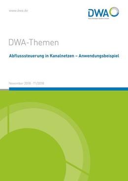 Abbildung von Abflusssteuerung in Kanalnetzen - Anwendungsbeispiele | 1. Auflage | 2018 | beck-shop.de