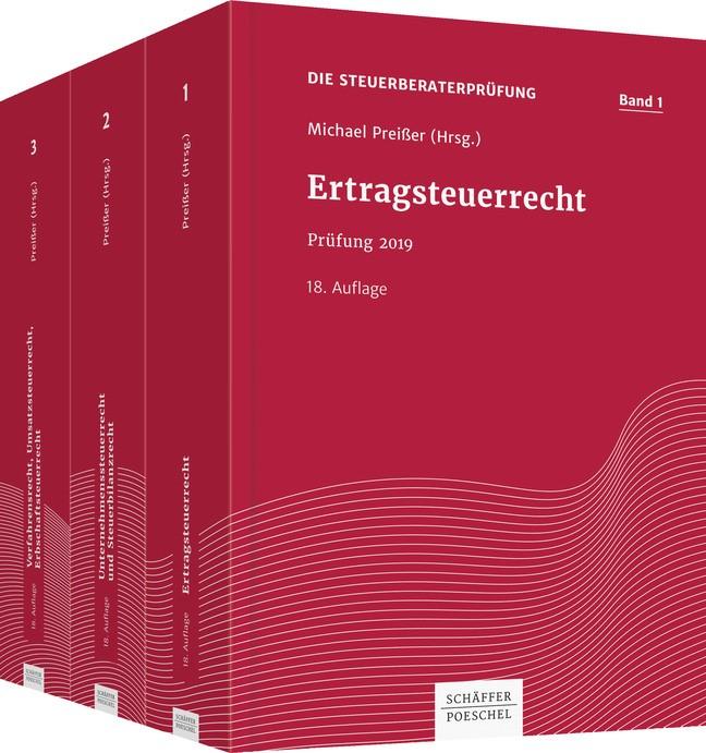 Die Steuerberaterprüfung • Set | Preißer (Hrsg.) | 18., überarbeitete und aktualisierte Auflage, 2019 | Buch (Cover)