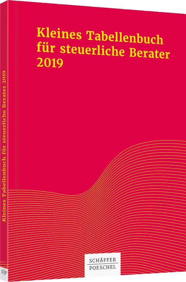 Kleines Tabellenbuch für steuerliche Berater 2019 | Himmelberg M.A. / Rick / Braun | 38. Auflage, 2019 | Buch (Cover)