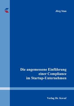 Abbildung von Stan | Die angemessene Einführung einer Compliance im Startup-Unternehmen | 1. Auflage | 2019 | 20 | beck-shop.de