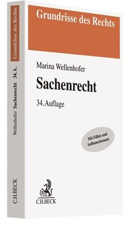 Abbildung von Wellenhofer | Sachenrecht | 34., überarbeitete Auflage | 2019