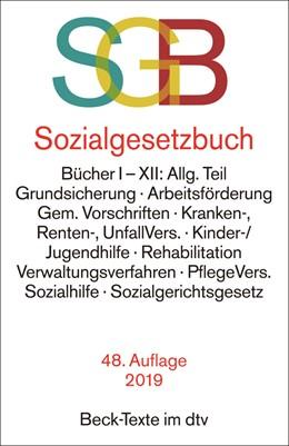Abbildung von Sozialgesetzbuch mit Sozialgerichtsgesetz: SGB | 48., neu bearbeitete Auflage | 2019 | Bücher I-XII: Allg. Teil, Grun... | 5024