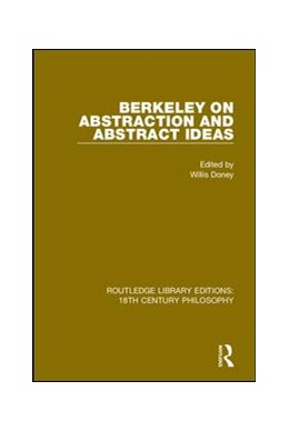 Abbildung von Doney | Berkeley on Abstraction and Abstract Ideas | 2019 | 1