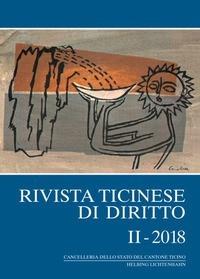 Rivista ticinese di diritto: RtiD, II - 2018, 2018 | Buch (Cover)