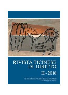 Abbildung von Rivista ticinese di diritto: RtiD: II - 2018 | 1. Auflage | 2018 | beck-shop.de