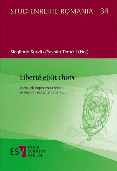 Liberté e(s)t choix | Borvitz / Temelli, 2019 | Buch (Cover)