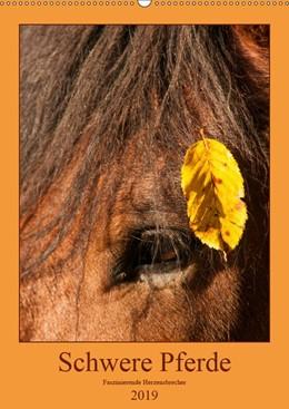Abbildung von Bölts   Schwere Pferde - Faszinierende Herzensbrecher (Wandkalender 2019 DIN A2 hoch)   1. Edition 2018   2018   Mitreißende Aufnahmen von Kalt...