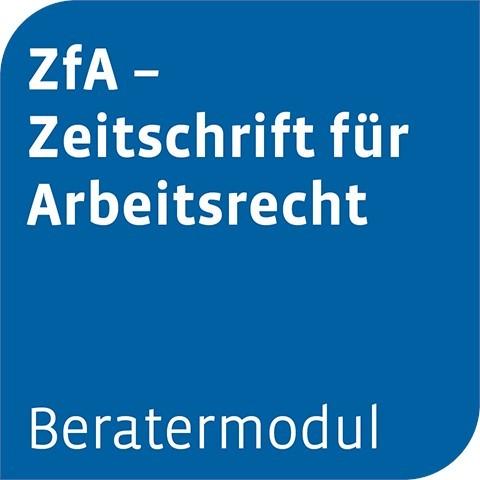 Otto Schmidt online: Beratermodul ZFA (Cover)