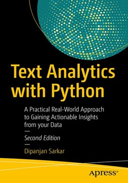 Abbildung von Sarkar | Text Analytics with Python | 2019 | A Practitioner's Guide to Natu...