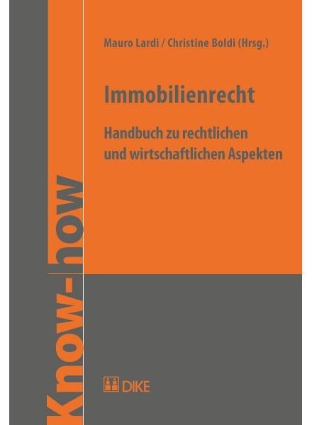 Immobilienrecht | Boldi / Lardi, 2018 | Buch (Cover)