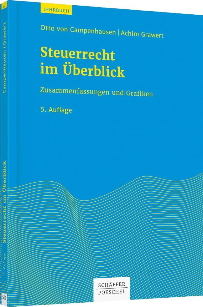 Steuerrecht im Überblick | Campenhausen / Grawert | 5. Auflage, 2019 | Buch (Cover)